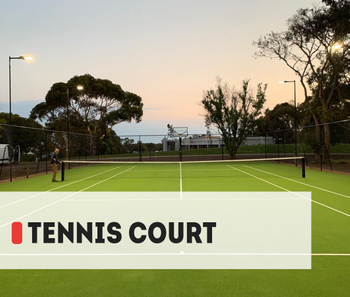 【Project】300W Tennis court lighting Installation