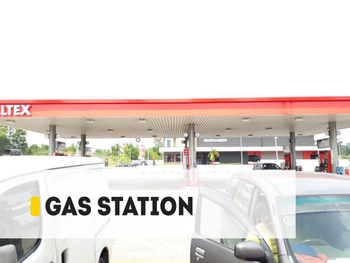 【Project】110W Gas Station Installation