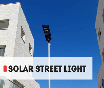 【Project】AOK Solar LED Street light story for the community in Israel